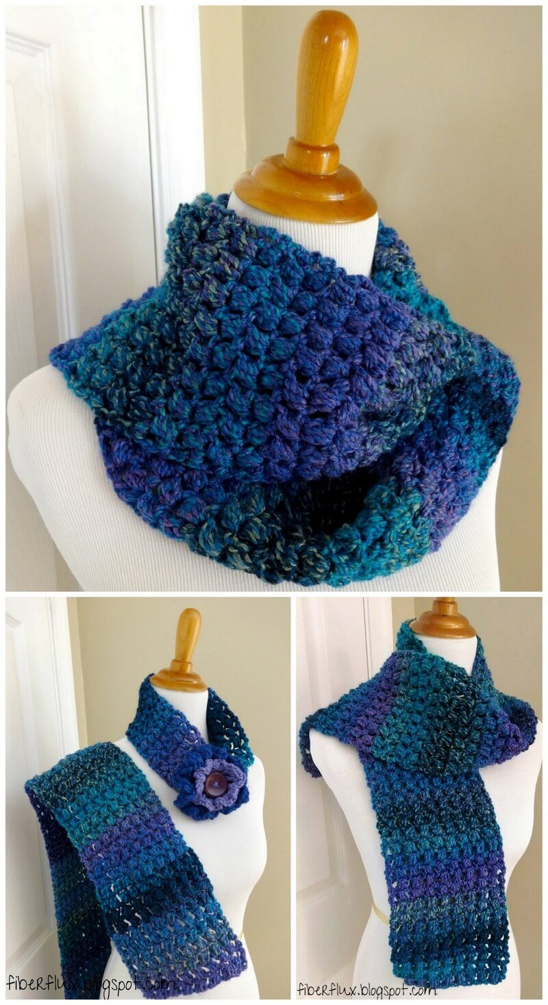 Easy Crochet Scarf Pattern (49)