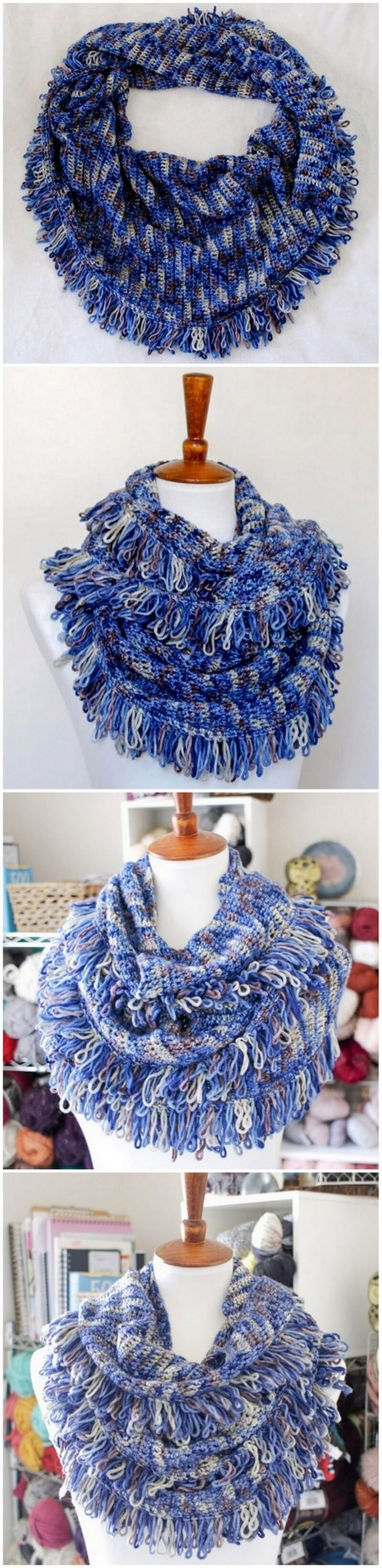 Easy Crochet Scarf Pattern (5)