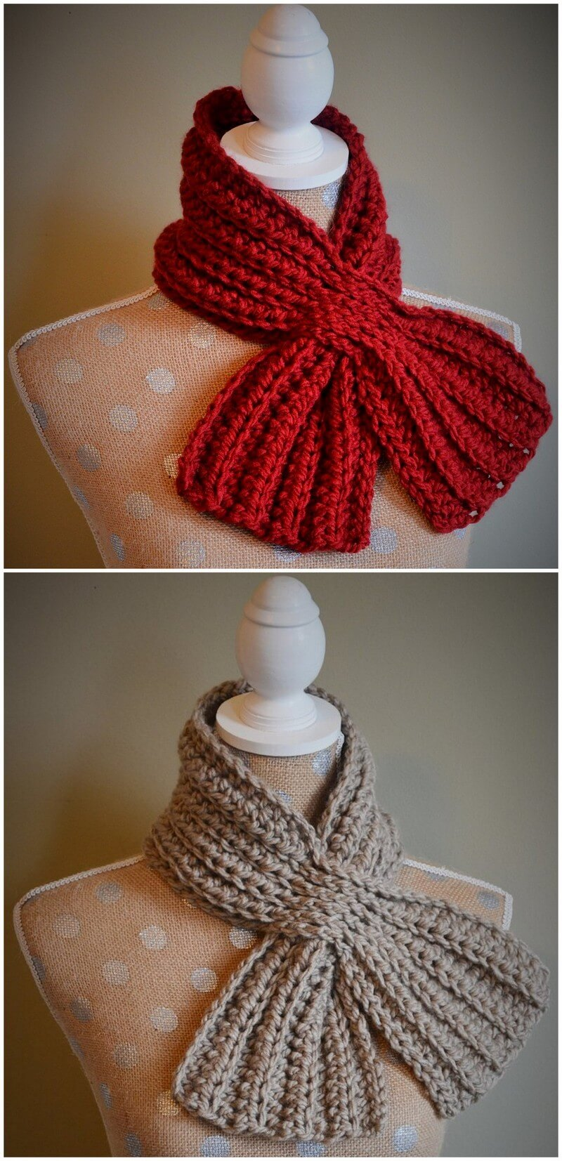 Easy Crochet Scarf Pattern (51)
