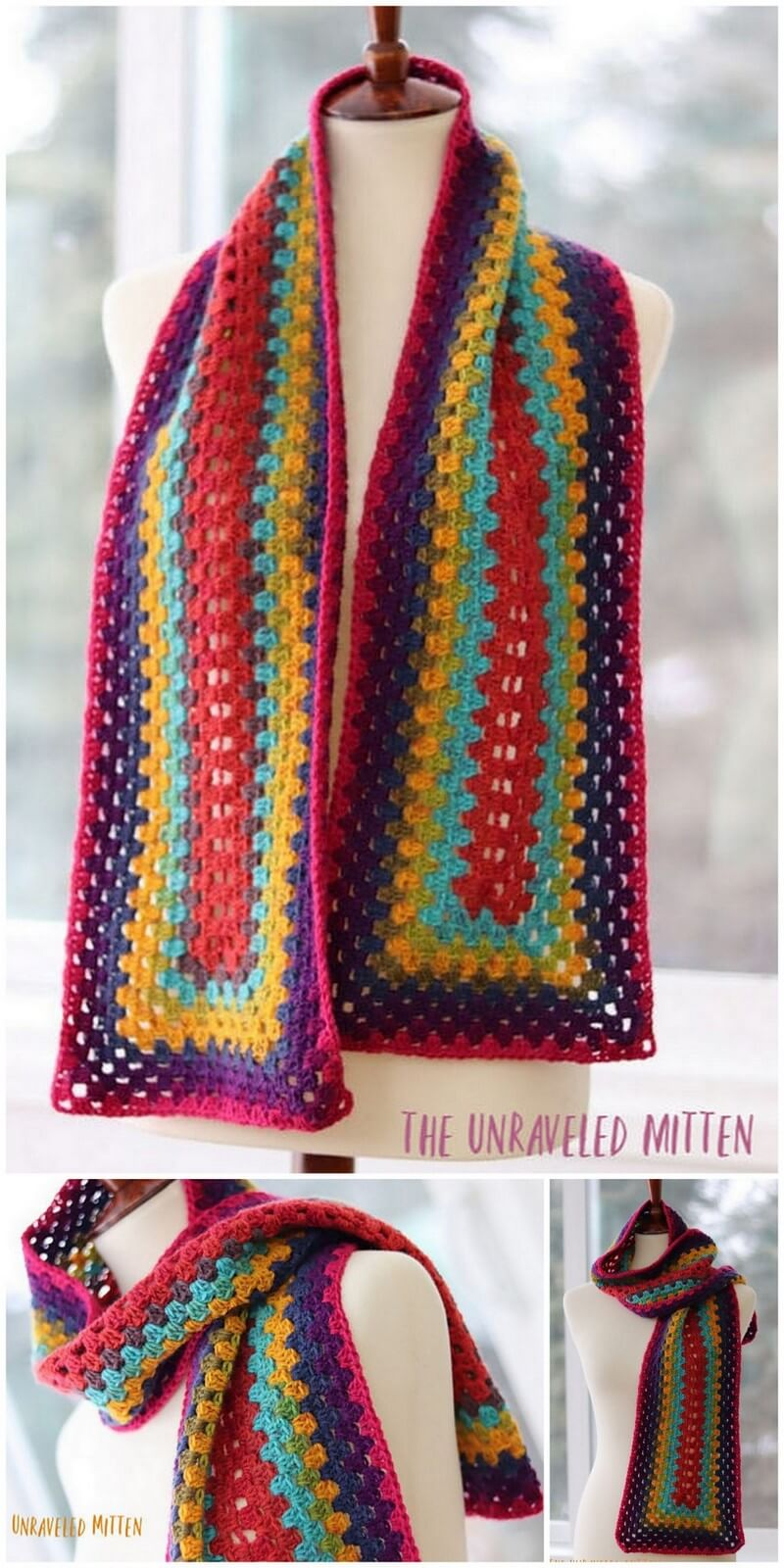 Easy Crochet Scarf Pattern (53)
