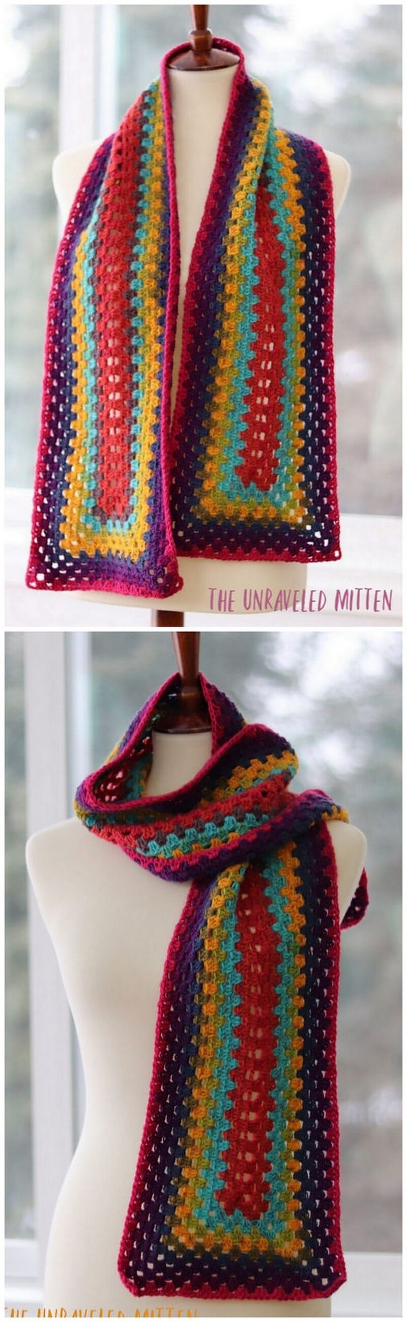 Easy Crochet Scarf Pattern (54)
