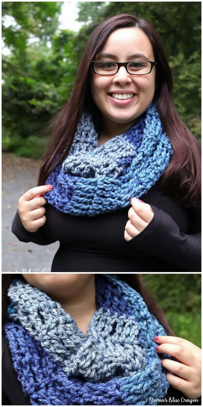Easy Crochet Scarf Pattern (60)