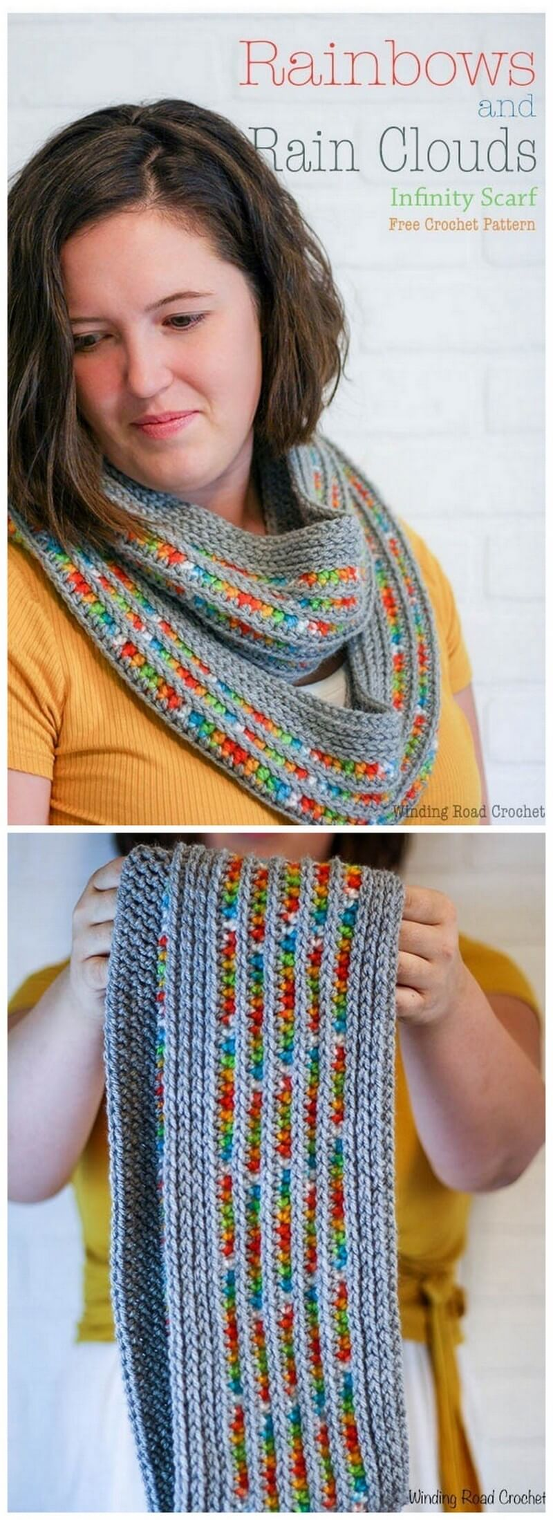 Easy Crochet Scarf Pattern (61)