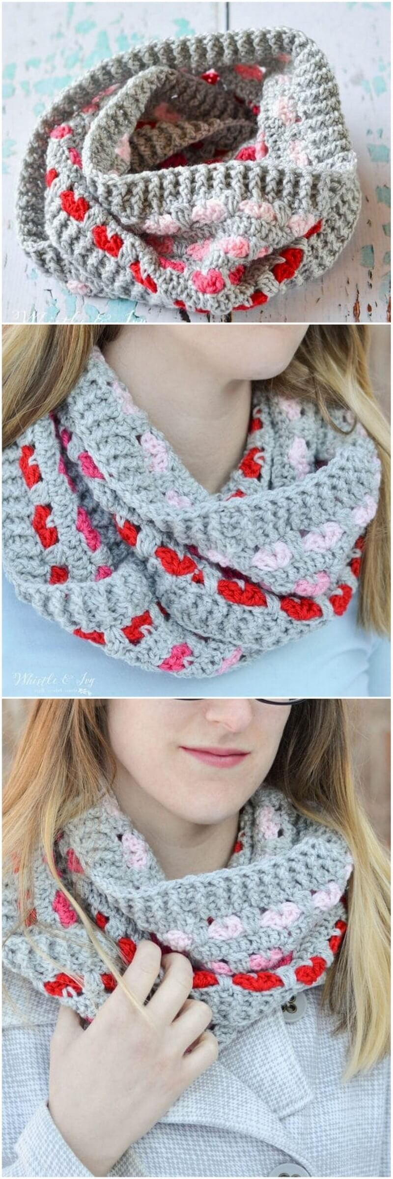 Easy Crochet Scarf Pattern (62)