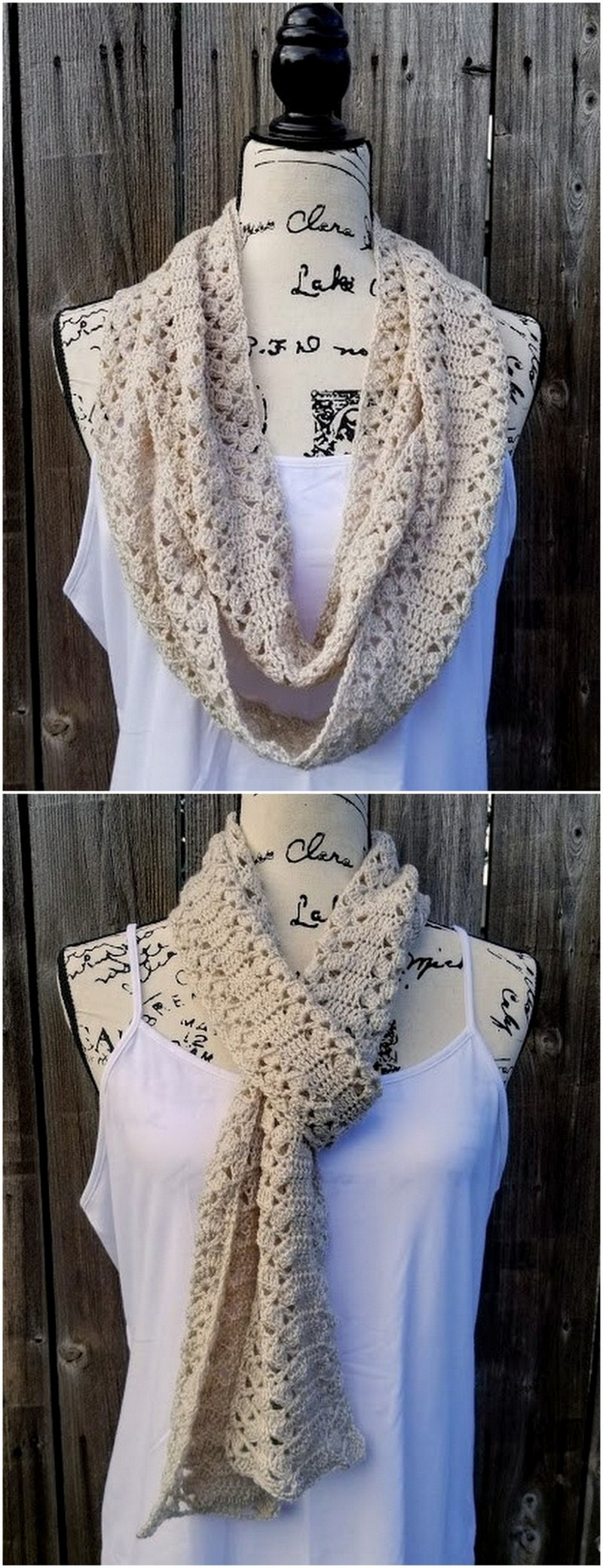 Easy Crochet Scarf Pattern (64)