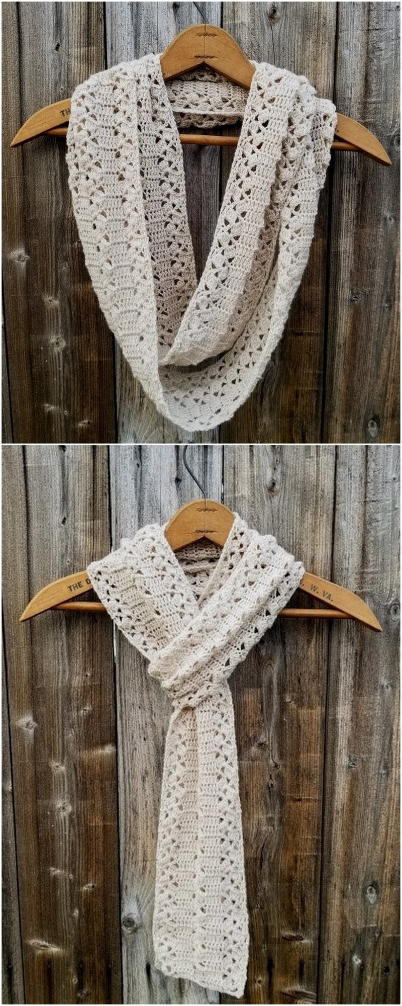 Easy Crochet Scarf Pattern (66)