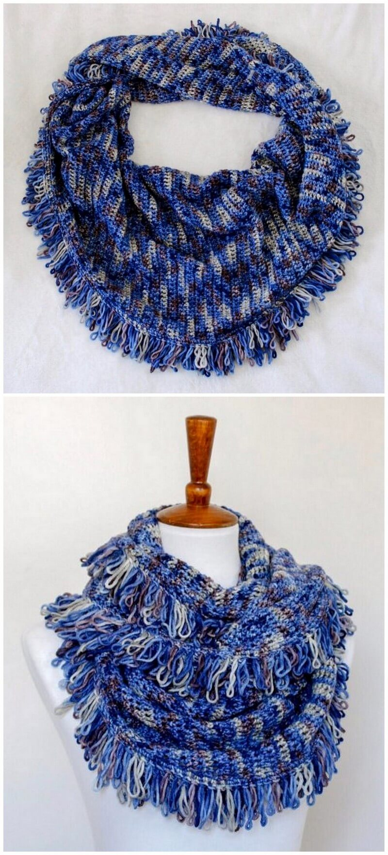 Easy Crochet Scarf Pattern (8)