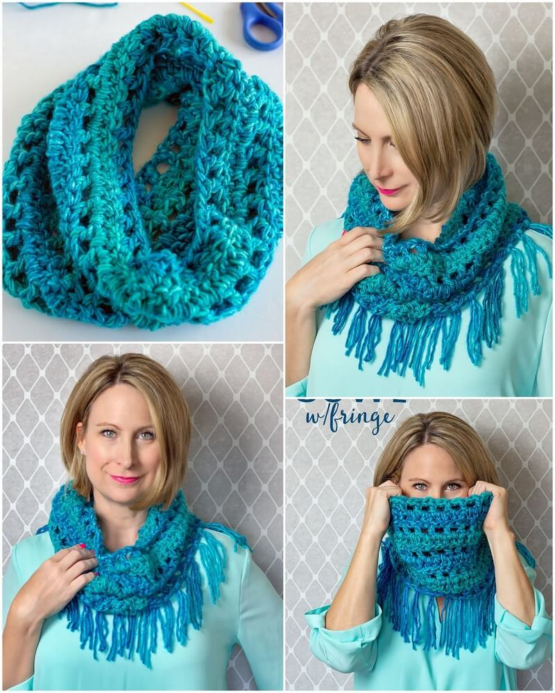 Easy Crochet Scarf Pattern (9)